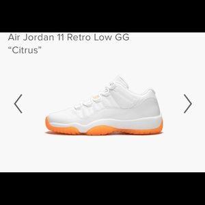 """Air Jordan 11 Retro Low GG  """"Citrus"""""""